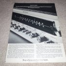 Sony Fm Receiver Ad from 1966, ST-7065, NICE, specs