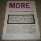 Harman Kardon a700 Amplifier Ad from 1964-RARE!