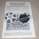 Newcomb SM-310 Open Reel Ad,Article, Rare Ad! 1959