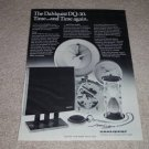 Dahlquist DQ-10 Speaker Ad,1979,Article, RARE!