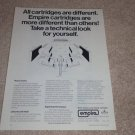Empire 1000ze/X Cartridge Ad, 1972, Article, Info
