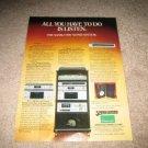 Sansui Vintage Ad 1980 Super System 900