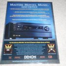 Denon AVR-5700 Receiver Ad, 1999, Article,Features