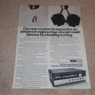 Harman Kardon 930 Twin Power Receiver Ad, 1971,Article