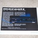 "Marantz CD-63 CD Player Ad, 1994, Article, 6""x8"""