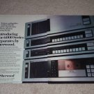 Sherwood 1982 6000 Series Ad,2 pgs,S-6040cp.s-6020,6000