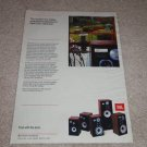 "JBL Entire ""L""  Line Speaker Ad, 1982, Article, color,"