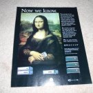 Proceed Mona Lisa Ad from 1996