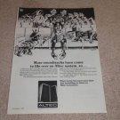 Altec 874A Segovia Speaker AD, 1972, Nice Ad! Frame it!