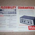 McIntosh C-8 Audio Compensator Ad,2 pgs,1958,Details C8