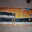 Pioneer SX-1010,939,838 Receiver Ad fr 1975, specs,pics