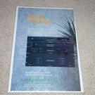 Polyfusion Ad, Amplifier,Pre,CD,860,940,800,920 Ad,1994