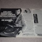 Philips Project 7 Series 877 Turntable Ad, 1978,article