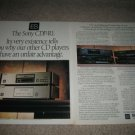 Sony ES CDP-R1 Reference CD PLayer Ad from 1989,X7ESD