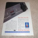 Krell Audio+Video Standard Ad from 1996, RARE!
