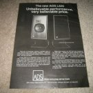 ADS L620 Speaker Ad from 1979