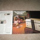 Pioneer A-9,F-9 SX-7 1981 Ad 4 pages! Amp/Tuner/Tape