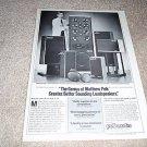 Polk SDA SRS,10b,CRS,SDA1 Ad from 1985, Matthew Polk