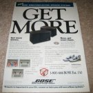 Bose 301 Series III AD from 1992 Mint