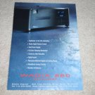 Wadia 860 CD Player Ad, 1997, Beautiful, High-End Beast