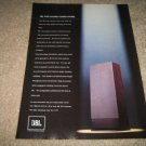 JBL Speakers Ad from 1987,PRO SOUND COMES HOME