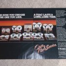 Teac Open Reel Deck Ad,2 pgs,Entire line 1977,color