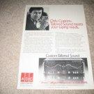 ADC Soundshaper Vintage Ad from 1980 BSR, Mk 2