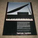 Harman Kardon PM665 Integrated Amp Ad from 1987
