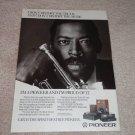 Pioneer Elite Ad, 1986, Wynton Marsalis, Amplifier, CD