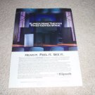 Klipsch Speaker Ad, 1993, KG Series, Home Theater, Nice