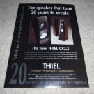 Thiel CS2.3 Speaker Ad from 1998