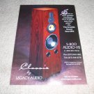 Legacy Audio Classic Speaker Ad from 1998, beautiful!!