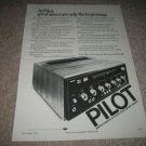 Pilot 254 Receiver Ad from 1973,specs,article