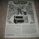 Kenwood QUAD Receiver Ad from 1975,KR-9940,8840