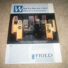 Fried R/5,Beta V,Q5,A/5,D/2 Sub Speaker AD from 1994