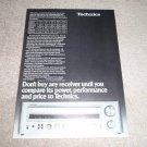 Technics SA-505 Receiver Ad, 404,303,202 Specs,Article