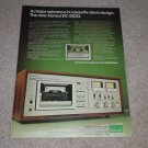 Sansui SC-5100 Cassette Ad, 1977,Article,Specs,Color
