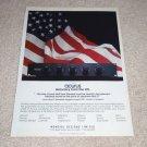 Acurus L10 Preamp Ad, 1991, American Pride!
