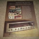 Kenwood KR-7600 Receiver Ad from 1975,color,nice!