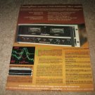Soundcraftsmen MA 5002 Amp Ad from 1978, color, with EQ