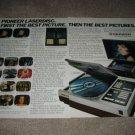 Pioneer Laserdisc,Big Screen Projector Ad from 1981