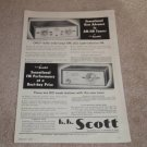 Scott Ad, 1956, 330,311 Tuners, Article, 1 page, Nice!
