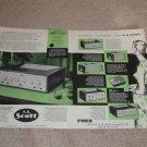 Scott 3 pg Ad,1956,210e,99,710a,280,310b,240 Specs,1956