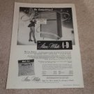 Stan White 4-D Speaker Ad, 1956, Article, $1000 Spkr!