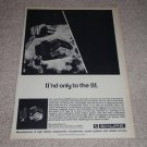 Shure V-15 Type III, M95-ED Cartirdge Ad, 1975, RARE!