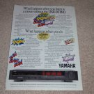 Yamaha DSR-100 Pro Surround Decoder Ad,1988, Article
