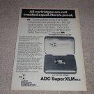 ADC Super XLM Mk II Cartridge Ad, 1975, Article, CD-4