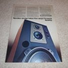 Kenwood LS-1200 Speaker AD from 1979, Article, Info