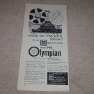 Magnacord 748 Olympian Open Reel Ad, 1962, Article,RARE