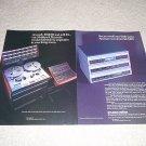 Revox B100 Series CD,Tuner, Amp Ad from 1989